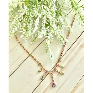 Jewelry - Vintage Multi Colored Gemstone Necklace